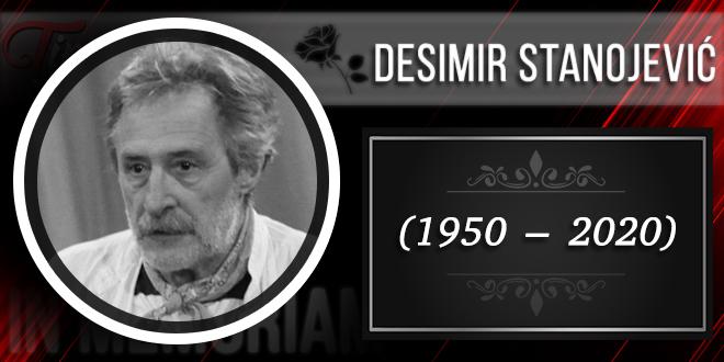 In Memoriam — Desimir Stanojević (1950–2020)