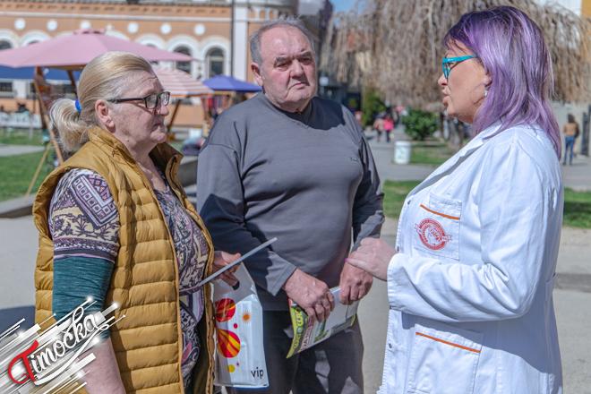 """Manifestacija """"Mart – mesec borbe protiv raka"""" u Zaječaru"""