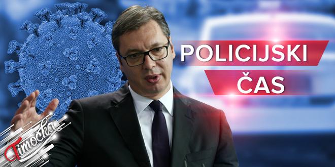 Policijski čas u Srbiji — COVID-19