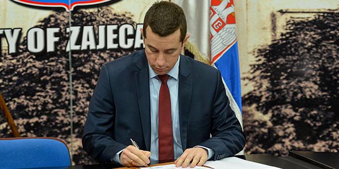 Predsednik Skupštine grada Zaječara — Odluka o raspisivanju izbora za članove Saveta mesne zajednice Vratarnica