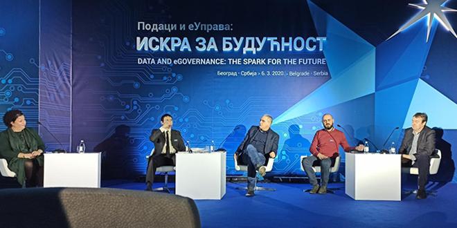 """Projekat """"Sigurne staze"""" na Međunarodnoj konferenciji """"Podaci i eUprava: Iskra za budućnost"""" u Palati """"Srbija"""""""