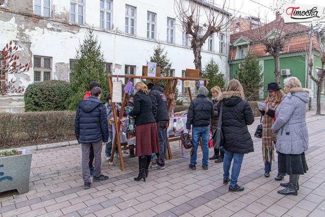 "ŠOSO ""Jelena Majstorović"" Zaječar — Prodajna izložba ""Ženama na dar"""