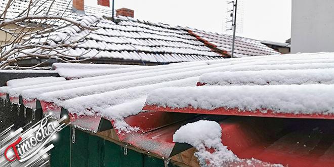 Sneg, krov