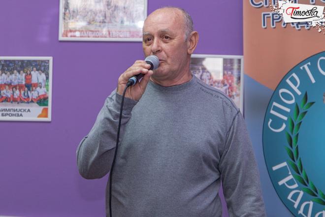 Dragiša Simonović — predsednik Sportskog saveza grada Zaječara