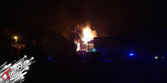 Požar u Zvorničkoj ulici u Zaječaru