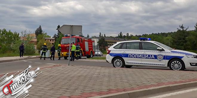 Saobraćajna nezgoda kod Doma zdravlja u Zaječaru: Iskliznule cisterne