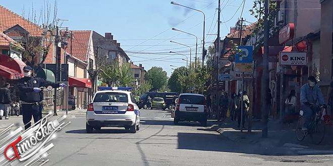 Saobraćajna nezgoda u ulici Ljube Nešića u Zaječaru