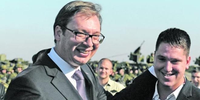 Син председника Србије Александра Вучића заражен корона вирусом