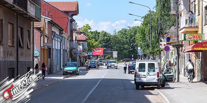 Ulica Nikole Pašića u Zaječaru