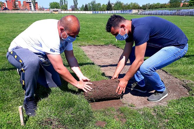 Uređenje gradskog stadiona u Zaječaru