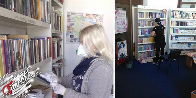 """Biblioteka """"Centar za kukturu"""" Kladovo: Prilagođen rad biblioteke novim uslovima"""