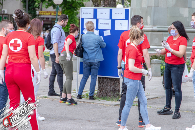 """Crveni krst Zaječar: Akcija """"Koliko puta hvala za volontere"""""""