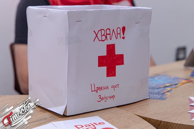 Црвени крст Зајечар: Уручивање захвалница младим даваоцима и волонтерима