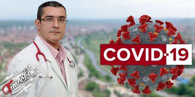 Doktor Nenad Ristović — Saopštenje — COVID-19