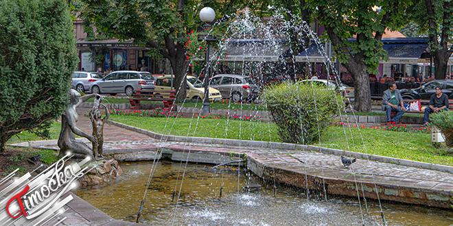 """Fontana """"Majka i dete"""" u Zaječaru"""