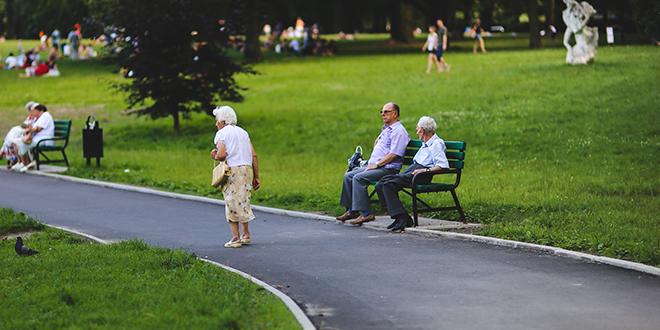 Ljudi u parku