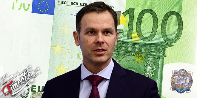 Ministar finansija Republike Srbije Siniša Mali: Novčana pomoć od 100 evra