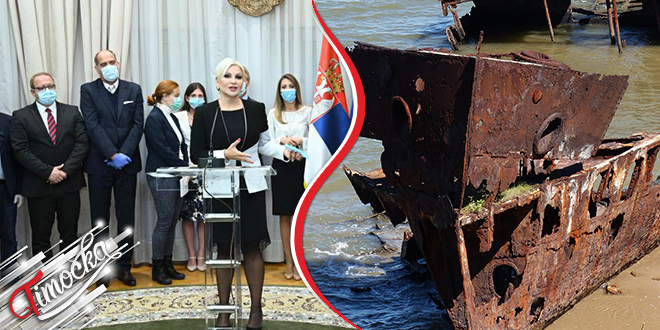Potpisan ugovor o vađenju potopljenih nemačkih brodova iz Dunava kod Prahova