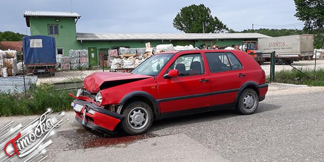Saobraćajna nezgoda na Zvezdanskom putu u Zaječaru