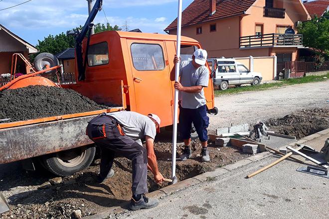 Sportski teren u zaječarskom naselju Vlačić dobija novo ruho