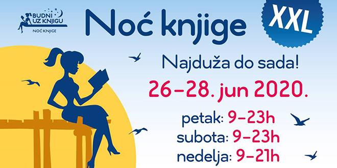 """22. regionalna manifestacija """"Noć knjige"""""""