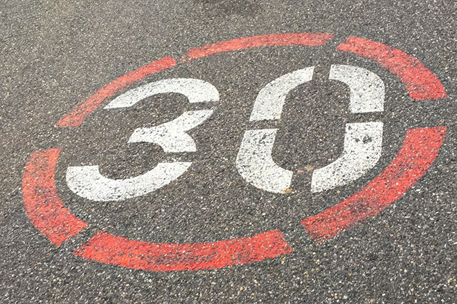 Drumski saobraćaj: Zona 30