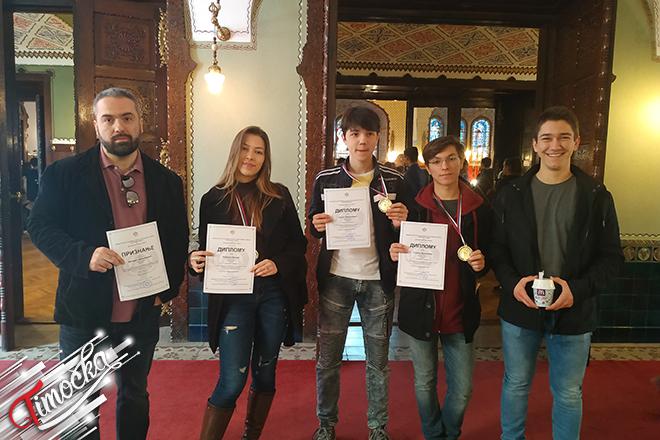 Subotica 2019: Republičko takmičenje iz fizike za učenike srednjih škola (tri druge nagrade)