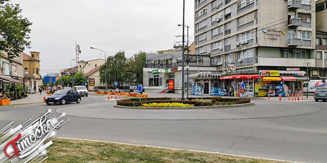 Grad Zaječar — Kružni tok u centru grada