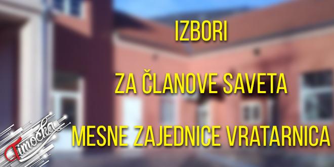 Izbori za članove Saveta Mesne zajednice Vratarnica