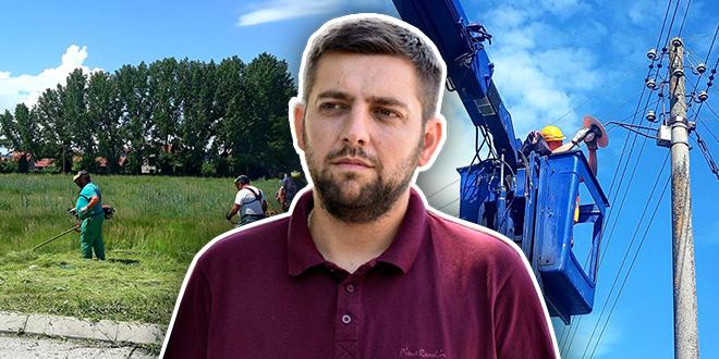 """JKP """"Timok – održavanje"""": Uređenje zelenih površina u gradu, zamena dotrajale ulične rasvete u selima"""
