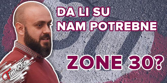 Mater inž. saobraćaja iz Bora Igor Velić: Da li su nam potrebne zone 30?