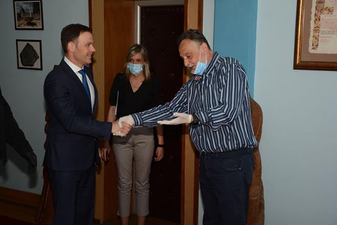 Ministar finansija Republike Srbije Siniša Mali u poseti Zaječaru