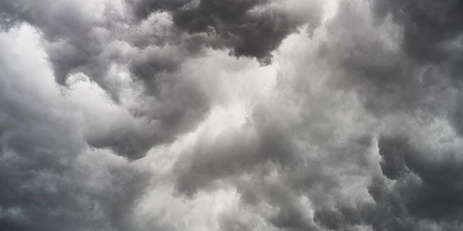 Небо, тамни облаци, облачно време