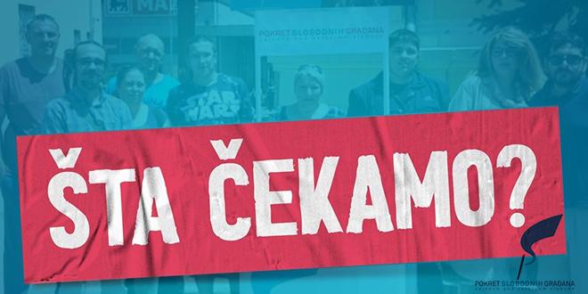 Pokret slobodnih građana — Gradski odbor — Parlamentarni izbori 2020