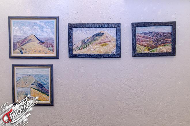 """Samostalna izložba slika """"Zvuk planina"""" autora Daniela Miletića u Radul-begovom konaku"""