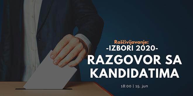"""Serijal razgovora """"Raščivijavanje"""": Razgovor sa kandidatima – Parlamentarni izbori 2020"""