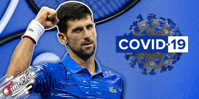 Teniser Novak Đoković — COVID-19