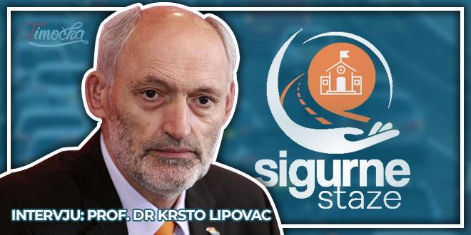 """Udruženje """"Sigurne staze"""" Bor — Intervju: Prof. dr Krsto Lipovac"""