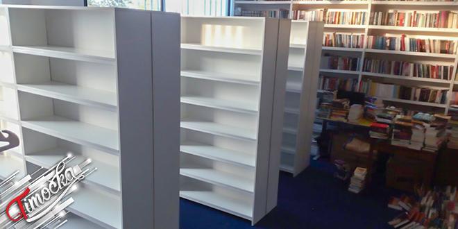 Библиотека Центар за културу Кладово: Нове полице за смештај књига у библиотеци