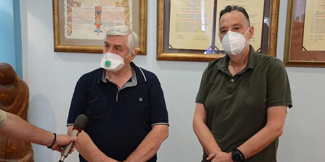 Epidemiolog dr Branislav Tiodorović u poseti Zaječaru