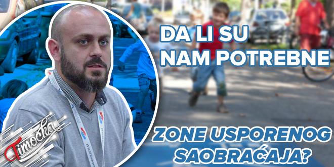 Mater inž. saobraćaja iz Bora Igor Velić: Da li su nam potrebne zone usporenog saobraćaja?