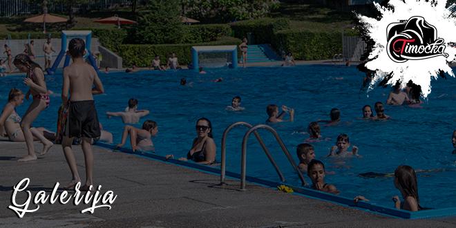 Otvorena kapija gradskog bazena u Zaječaru