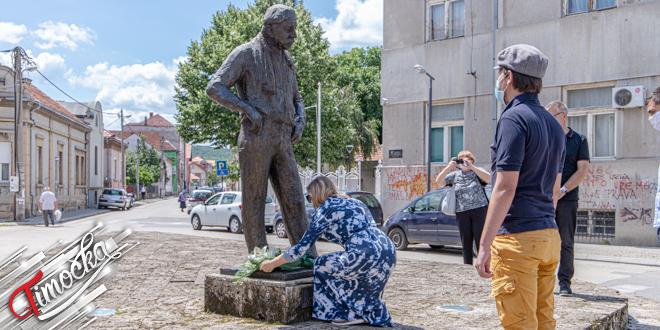 Полагање цвећа поводом 35 година од смрти Зорана Радмиловића у Зајечару