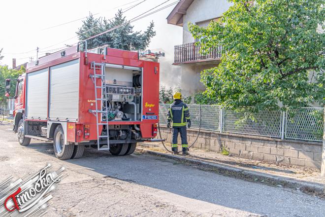 Požar u Ustaničkoj ulici u Zaječaru