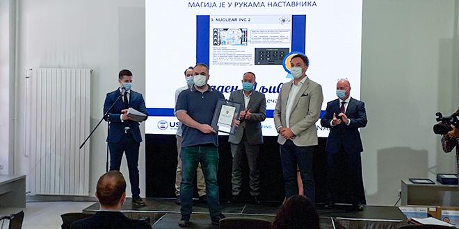 """Profesor fizike Mladen Šljivović: Dobitnik nagrade na nacionalnom konkursu """"Magija u rukama nastavnika"""""""