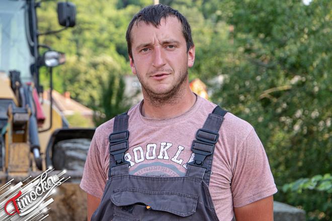 Vladan Stojiljković – meštanin sela i član Saveta Mesne zajednice Vratarnica