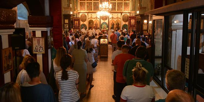 Služba Sveta tajna jeleosvećenja u Zaječaru