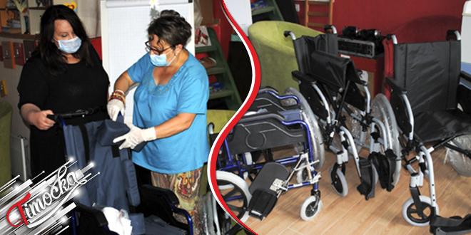 """Udruženje """"Duga"""" Negotin: Donirana invalidska kolica u okviru projekta """"Budimo jači"""""""