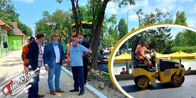 Uređenje pešačke staze na četvrtom kilometru grada Bora