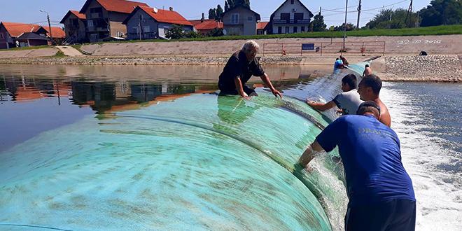 Akcija čišćenja brane na Crnom Timoku u Zaječaru